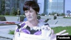 Наталья Уласик, жезқазғандық белсенді.