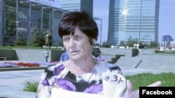 Гражданский активист из города Жезказган Наталья Уласик.