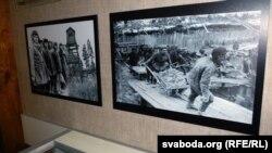 Ілюстрацыйнае фота. Музэй сталінскіх рэпрэсій у Бабруйску, асобныя экспанаты кампазыцыі