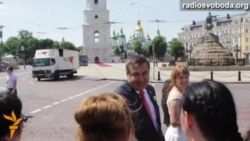Урочистості на Софійській площі з нагоди інавгурації президента