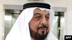 رئيس دولة الإمارات العربية المتحدة الشيخ خليفة بن زايد آل نهيان