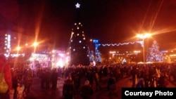 Новогодний Донецк