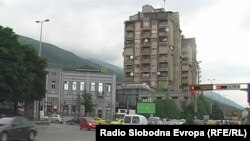 Центарот на Тетово.