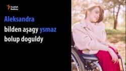 Ukrain fotomodeli kynçylyklara döz gelýär