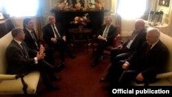 Հայաստանի և Ադրբեջանի արտգործնախարարների հանդիպումը՝ Մինսկի խմբի հովանու ներքո, Վաշինգտոն, 20-ը հունիսի, 2019թ.