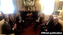Министры иностранных дел Армении и Азербайджана - встреча состоялась 20 июня 2019 года в Вашингтоне (архив)