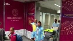 «В житті не було нічого кращого» – Беленюк і Насібов привезли в Україну олімпійські медалі (відео)