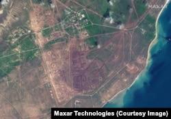 Penempatan militer Rusia di area pelatihan Opuk di pantai Laut Hitam Krimea