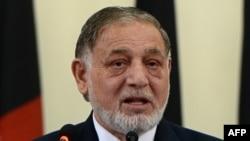 Ауғанстан сайлау комиссиясының басшысы Ахмад Юсуф Нуристани.