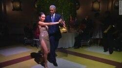 Барак Обама станцевал танго с аргентинской примой