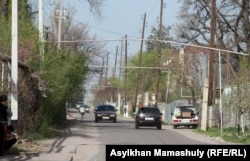 Улица в селе Акжар Карасайского района Алматинской области. Иллюстративное фото.