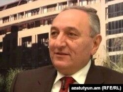 Armenia -- Bargavach Hayastan (Prosperous Armenia) MP Vartan Bostanjian in RFE/RLs video studio, 05Feb2011