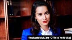 """Генеральный продюсер """"Матч ТВ"""" Тина Канделаки"""