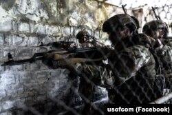 Військовослужбовці Сил спеціальних операцій ЗСУ