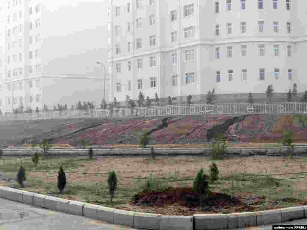 Микрорайон Мир-7 в Ашхабаде