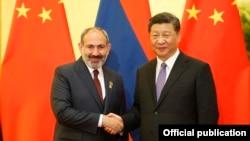 Հայաստանի վարչապետի և Չինաստանի նախագահի հանդիպումը, Պեկին, 14-ը մայիսի, 2020թ.