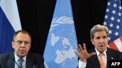 Segej Lavrov i Džon Keri, februar 2016