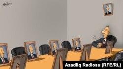 Azeri President Aliyev Addresses His Cabinet (RFE/RL Azerbaijani Service)