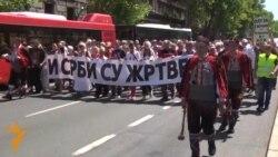"""ТВ вести - Белград во спомен на """"Бура"""", Пешевар во чест на полицајците"""
