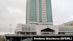 Астанадағы үкімет үйі. (Көрнекі сурет)