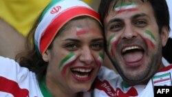 2014-cü ilin Braziliyadakı futbol üzrə Dünya Çempionatından iranlı azarkeşlər
