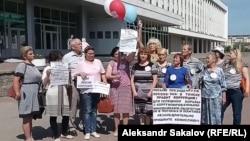 Томск, 15 июня 2017, запись обращения горожан к Президенту