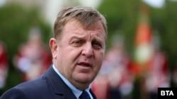 Бугарскиот министер за одбрана и вицепремиер, Красимир Каракачанов