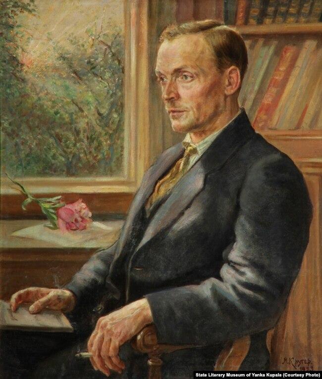 Партрэт Янкі Купалы. 1923 г.