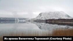 Вулканическое озеро. Кунашир