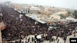 Фаллуджа қаласындағы жұма намазы. Ирак, 3 қаңтар 2014 жыл.