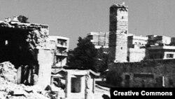 Хама шаары 1982-жылкы чабуулдан кийин.