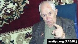 86-летний ветеран, инвалид Второй мировой войны Григорий Маларов.
