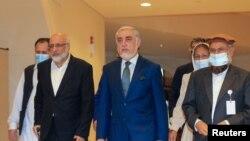 عبدالله عبدالله کوله تېره چهارشنبه په قطر کې خپلې درې ورځنۍ مذاکرې پای ته ورسولې.