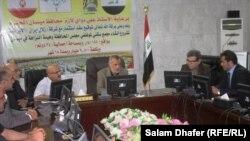 حكومة ميسان المحلية مع ممثلي شركة ايرانية مستثمرة