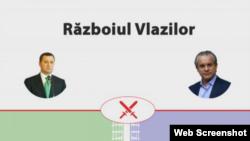 """Coperta infograficului Agora.md """"Războiul Vlazilor""""."""