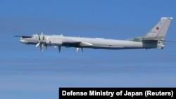 A Russian Tu-95 bomber (file photo)