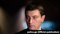 Министр внутренних дел Грузии Георгий Гахария