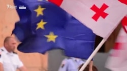 Тбилисиде жастар ұйымдастырған шеру жалғасып жатыр