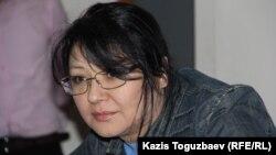 Ґузяль Байдалінова на суді в Алмати, фото 16 травня 2016 року