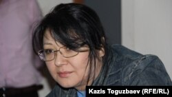 Guzyal Baidalinova was sentenced to 18 months in jail on May 23 on libel charges.