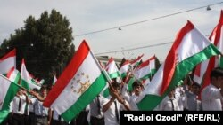 Tajikistan -- Celebration of the 20th anniversary of the independence of Tajikistan in Dushanbe city, 9Sep2011