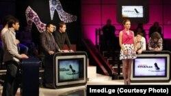 """""""Әйел логикасы"""" ток-шоуынан көрініс. Грузия, 2012 жыл."""
