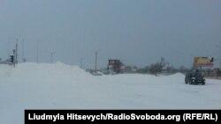 Сніг на Одещині, 18 січня 2016 року
