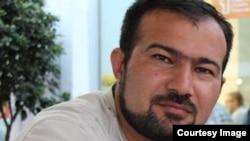 Azerbaijan -- Baku. journalist. Azadlig. Seymur Hazi