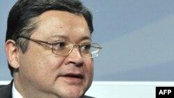 Қазақстанның қазіргі мемлекеттік хатшысы Марат Тәжин. Хельсинкі, 4 желтоқсан, 2008 жыл