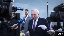 Председатель Нидерландского совета по безопасности Чиббе Йаустра