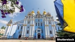 Михайлівський Золотоверхий собор у Києві, який належить Православній церкві України (ПЦУ)
