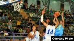 مباراة دهوك الحلة في السلة