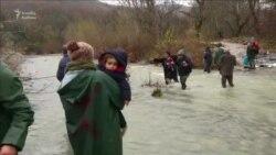 Makedoniyaya keçən miqrantlar geri qaytarılıb