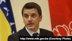 Damir Hadžić uhapšeni bivši ministar komunikacija i prometa BiH i bivši načelnik sarajevske opštine Novi Grad